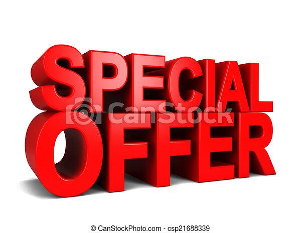 speciale, offerta - csp21688339