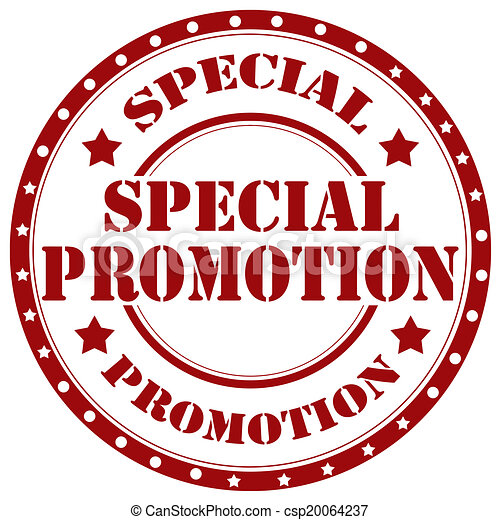 speciale, promotion-stamp - csp20064237