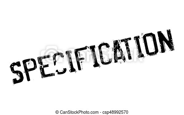 specification rubber stamp grunge design with dust scratches