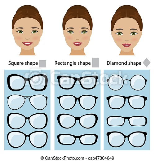 Spectacle Frames For Women Face Shapes Spectacle Frames Shapes For