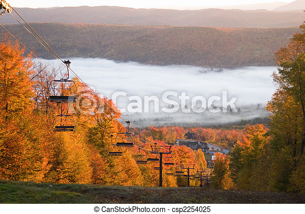 Spectacular fall landscape - csp2254025
