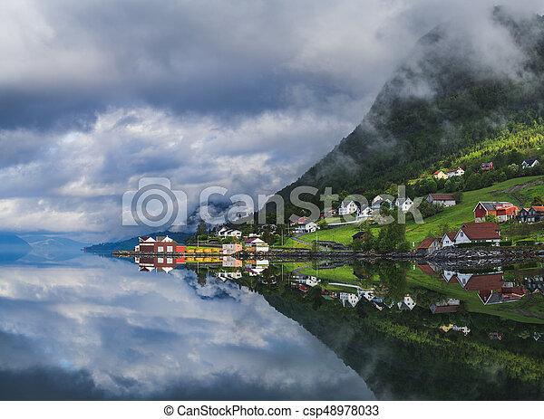 Spectacular reflections - csp48978033