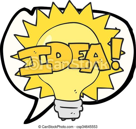 Lightbulb Idea Clipart 18485