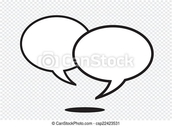 Speech Bubbles - csp22423531
