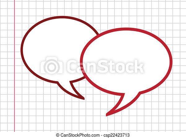 Speech Bubbles - csp22423713