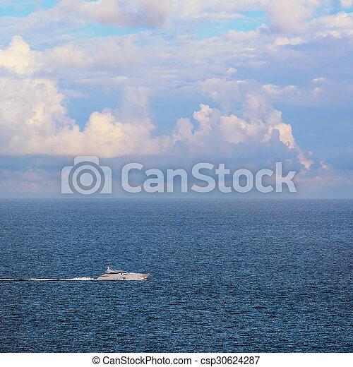 speed-boat - csp30624287