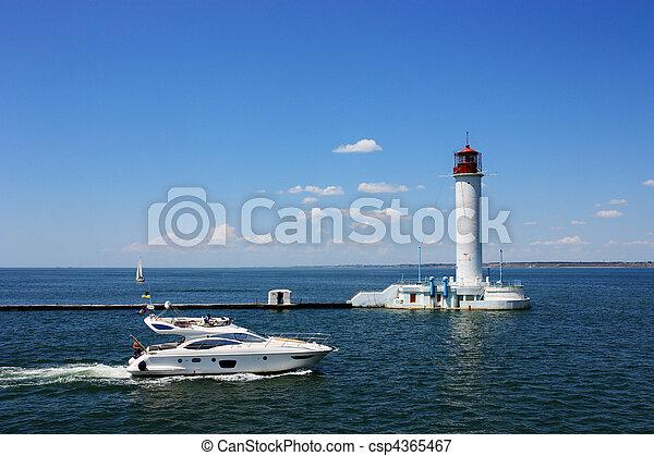 speed boat - csp4365467