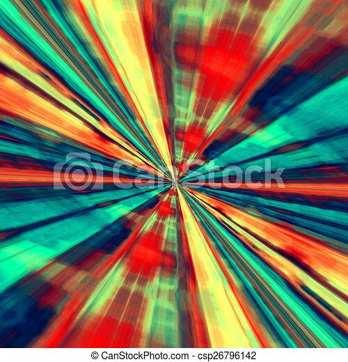 Speed Concept Abstract Art