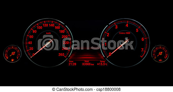 Speed control dashboard - csp18800008