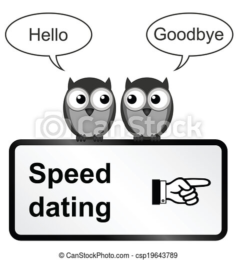Speed dating - csp19643789