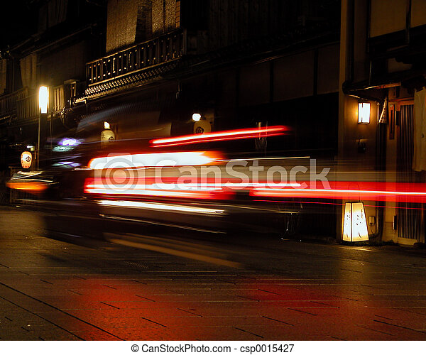 Speed in Gion - csp0015427