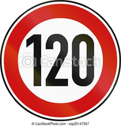 Speed Limit 120 - csp25147567