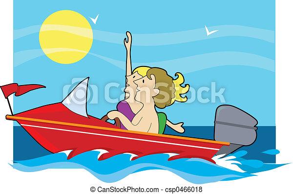 Speedboat Ride - csp0466018