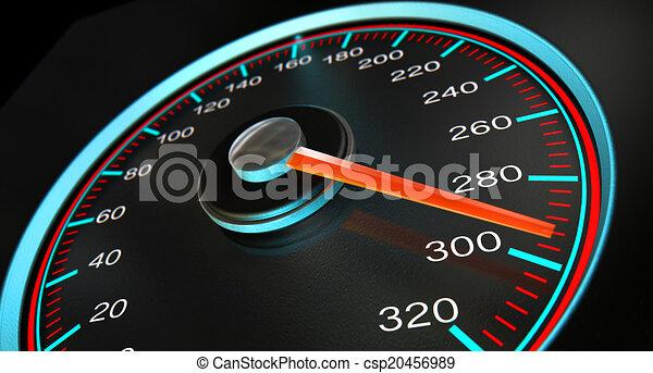 Speedometer Fast Speed - csp20456989