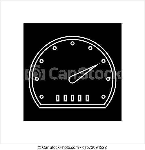 Speedometer Icon Design - csp73094222