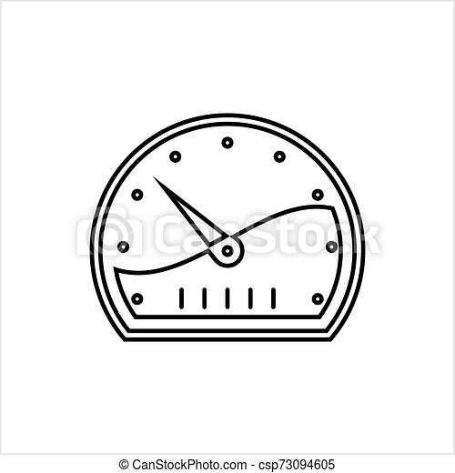Speedometer Icon Design - csp73094605