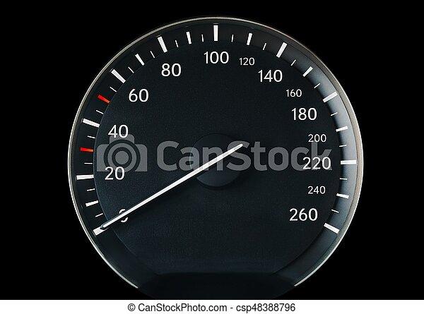 Speedometer of a car - csp48388796