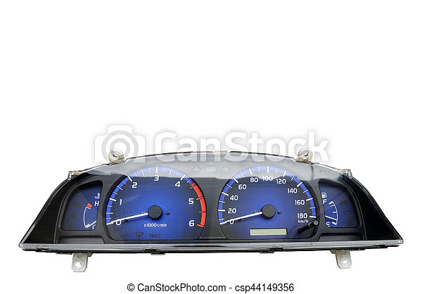 Speedometer set of vehicle, spare part - csp44149356