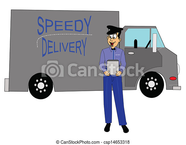 delivery truck driver