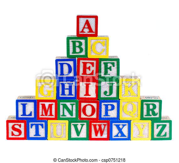 speelbal, alfabet - csp0751218