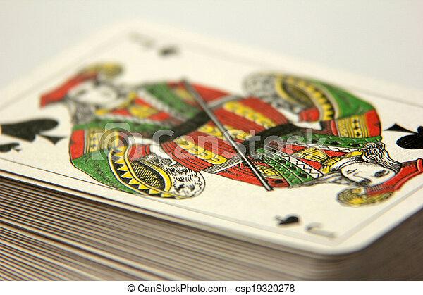 speelkaart - csp19320278
