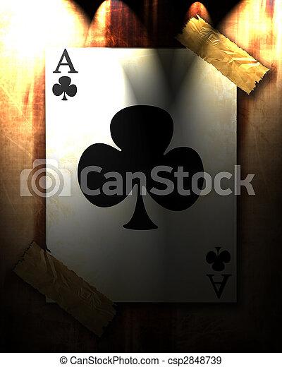 speelkaart - csp2848739