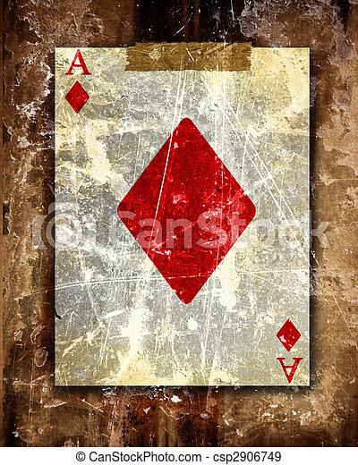 speelkaart - csp2906749