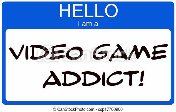 spel, video, verslaafde, hallo - csp17760900