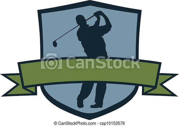 speler, golf, kam - csp10153576