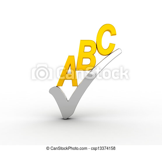 Spell check icon - csp13374158