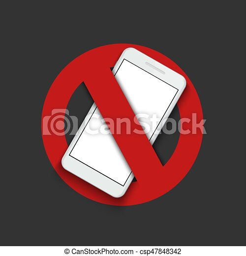 spento, moderno, -, segno, turno, vettore, telefono. - csp47848342