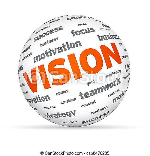 Sphere Business Vision - csp8476285