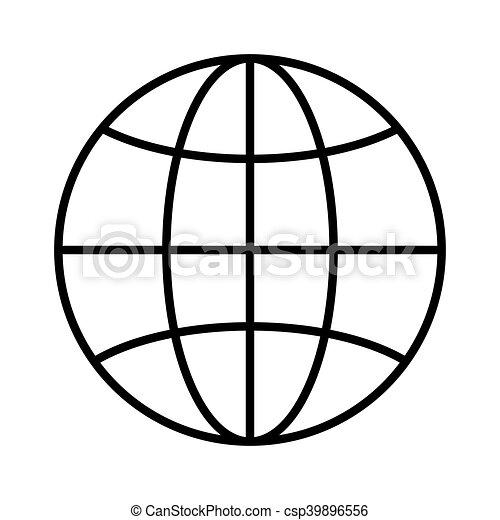 sphere global design sphere global internet earth network rh canstockphoto com vector sphere rc drone parts intersection vecteur sphere