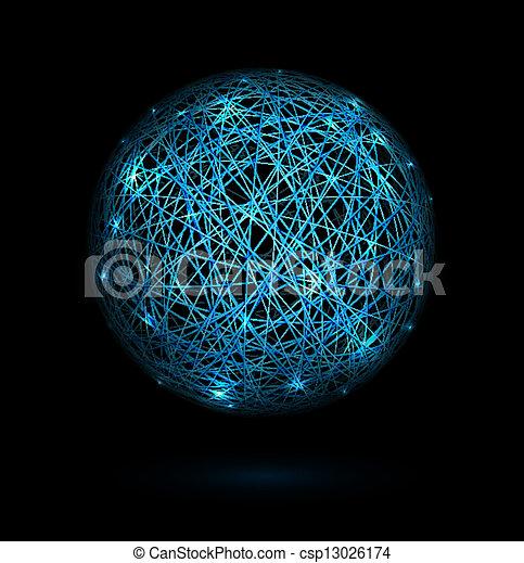 Sphere of lines - csp13026174