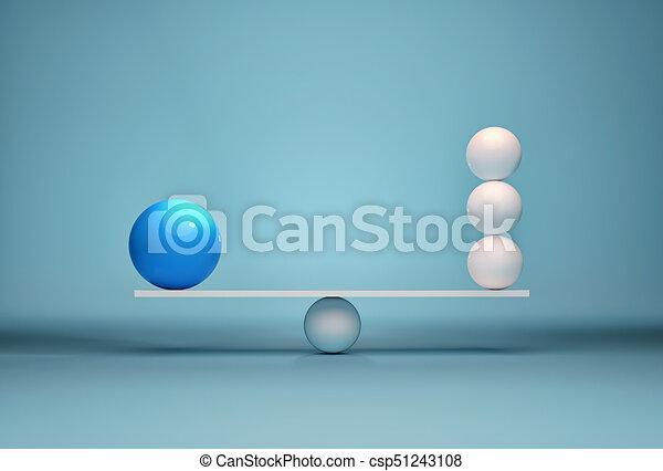 Spheres in balance - csp51243108