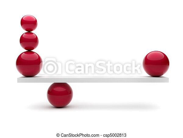 Spheres in balance - csp5002813