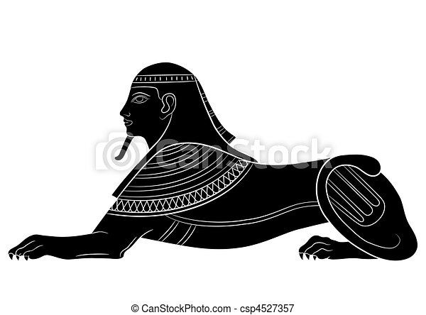 Sphinx - mythical creature - csp4527357
