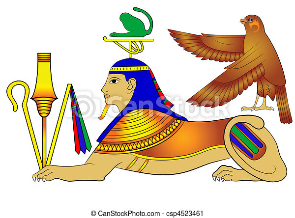 sphinx mythical creature sphinx illustrations of the vector rh canstockphoto com great sphinx clipart great sphinx clipart