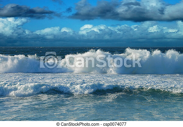 spiaggia, cielo - csp0074077