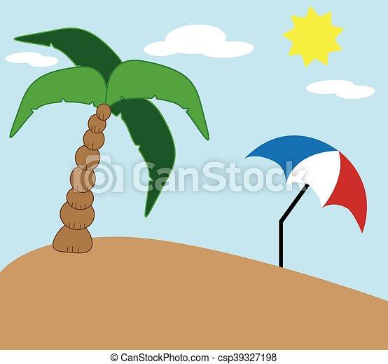 spiaggia - csp39327198