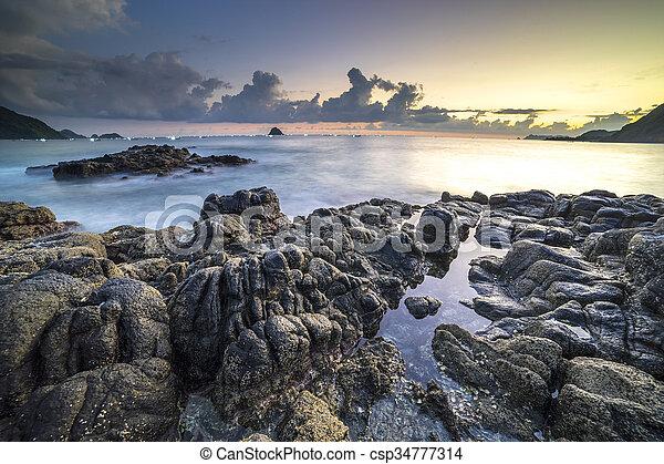 spiaggia - csp34777314