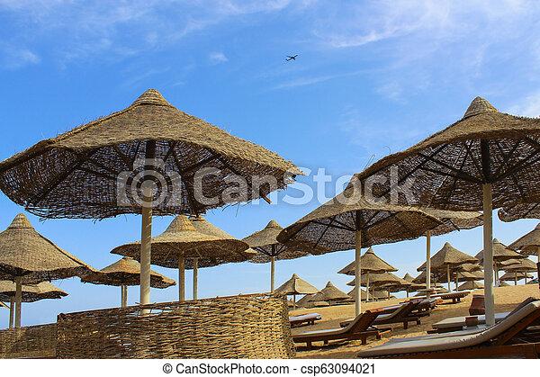 spiaggia, mar rosso - csp63094021