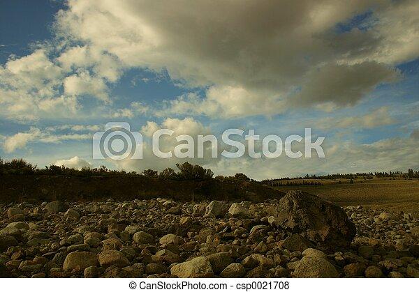 spiaggia, roccioso - csp0021708