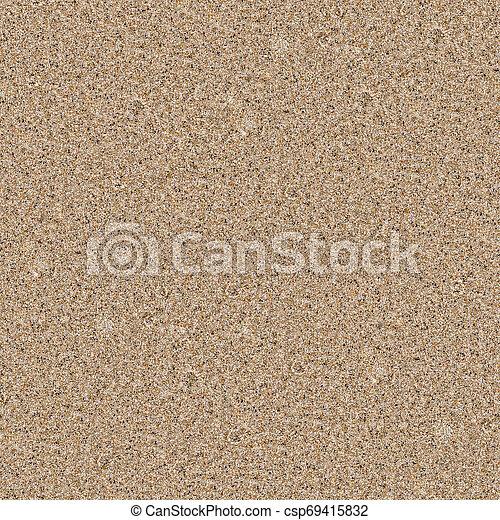 spiaggia sabbia, seamless, struttura - csp69415832