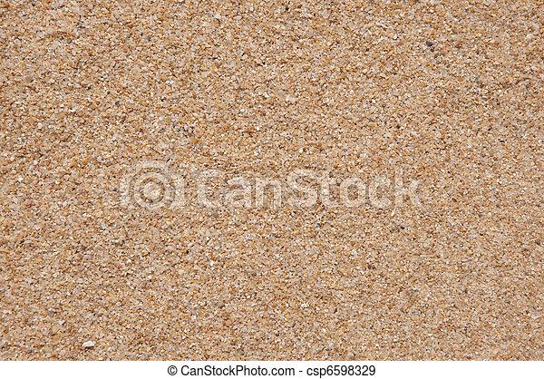 spiaggia sabbia, struttura - csp6598329