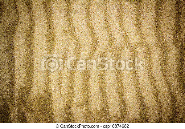 spiaggia sabbia, struttura - csp16874682