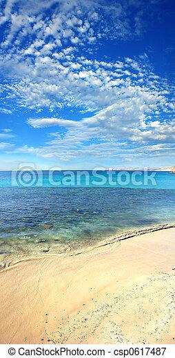 spiaggia, verticale - csp0617487