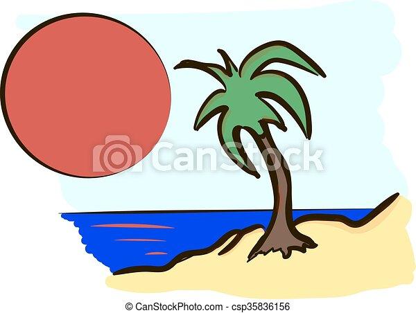 spiaggia - csp35836156