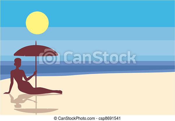 spiaggia - csp8691541