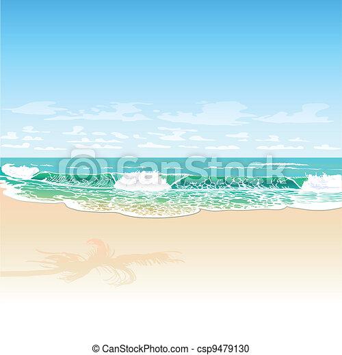 spiaggia - csp9479130